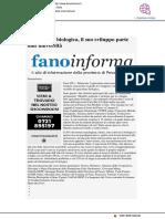 Agricoltura biologica, il suo futuro parte dall'università - Fano Informa.it, 23 settembre 2019