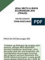 Ppt. TKMB Dan Fraud Fix