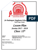 Lesson Plan IP_Class-XII