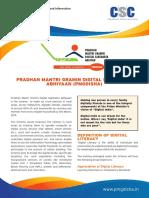 PMGDISHA Brochure