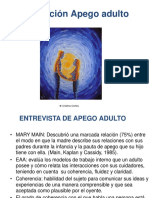 ENTREVISTA DE APEGO ADULTO AAI
