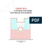CANDE-2019 User Manual