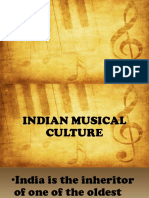 INDIAN Musical Culture