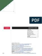 W-292 Timex User Manual