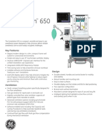 ANASTESI Carestation 650 Spec Sheet Rev4