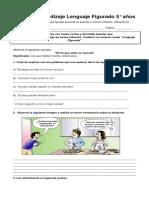 Guía de Lenguaje Figurado