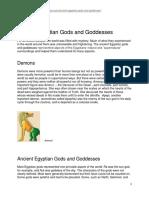 Ancient Egyptian Gods and Goddesses.pdf