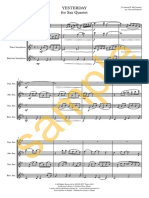 Beatles - Sax Quartet.pdf