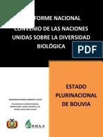 Informe nacional de la Diversidad Biológica
