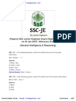 ssc je papers