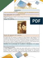 Formato de Matriz de Analisis Individual de La Pelicula La Chica Danesa