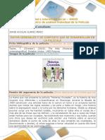 Formato de Matriz de Analisis Individual de La Pelicula the Help - Historias Cruzadas