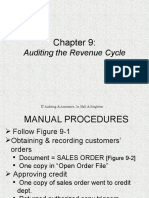 Chapter 9 Audit of revenue cycle