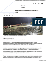 Colapsa Techo de Séptimo Nivel de Hospital Cuando Vaciaban El Concreto Diario Correo