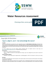 Water Resources Assessment-140203