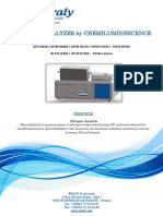 Nitrogen Analyser by Chemiluminescence