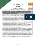 Deutsch Als Fremspache Level B1 - Lesetext