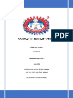 Línea de Tiempo Automatización Jose Salvador y Jose Luis