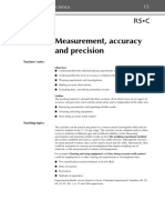 Measurement, accuracy and precision.pdf
