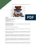 crochet bear blanket pattern