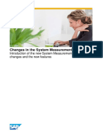 Changes in the System Measurement Program