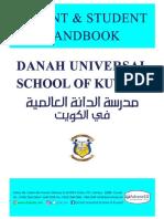 Student Parent Handbook 2019 2020