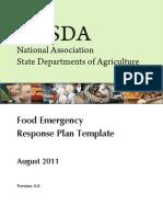 NASDA Emergency Food Response