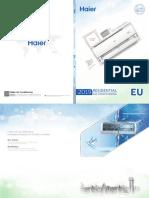 Haier 2019EU RAC Catalogue .Version 1