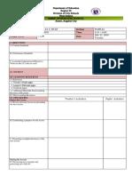Detailed Lesson Plan Format for Observation