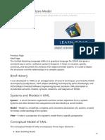 Tutorialspoint.com-OOAD - UML Analysis Model
