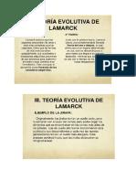 Darwin y Lamarck 9º