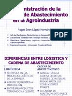 Administración de La Cadena de Abastecimiento en La Agroindustria