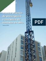 Manual Práctico de Prescripción y Recepción de Ventanas en Obra