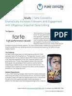Urlgenius Case Study Snapchat Tarte Cosmetics 091316