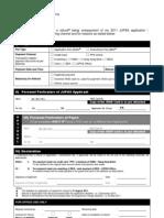 Refund Form 2011