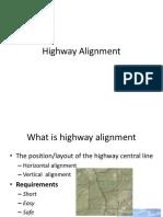 Highway Alignment