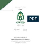 Ilmu Al-Qur'an Kelompok 13 (Tajwid)
