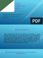 Diapositivas Presentacion de Informe de La Experiencia UNAD
