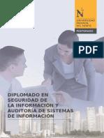 Diplomado en Seguridad de La Informacion y Auditoria de Sistemas de La Informacion