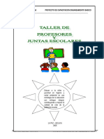 talleres de profesores y juntas