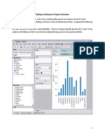Tableau Software Project Solution