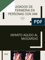 Plataforma Cuidados de Enfermeria en Personas Con Iam 2019