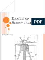 Design Ofscrew Jack