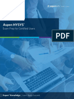 At-05197 Hysys Study Guide