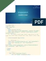 9. StopWatch App Source Code