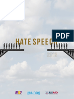 HATE SPEECH - 2018
