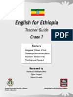 ENglish for ethiopia grade 7