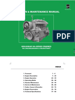 Koel Engine, Ha Operation and Maintenance Manual (Ha - Sr)