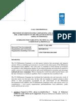 CFP_UNDP_MDG_001_2009
