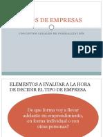 TIPOS DE  EMPRESAS. Requisitos.pptx
